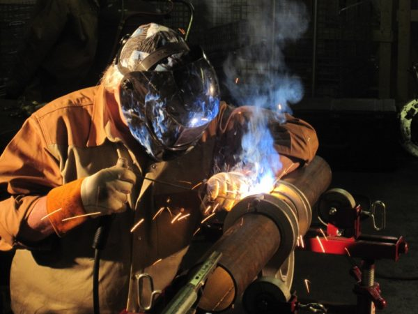 Welding with the Aluminum Alignment Clamp