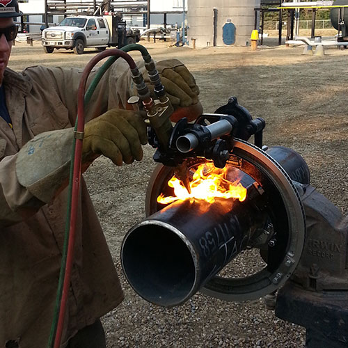 Quick Set Pipe Cutting and Beveling