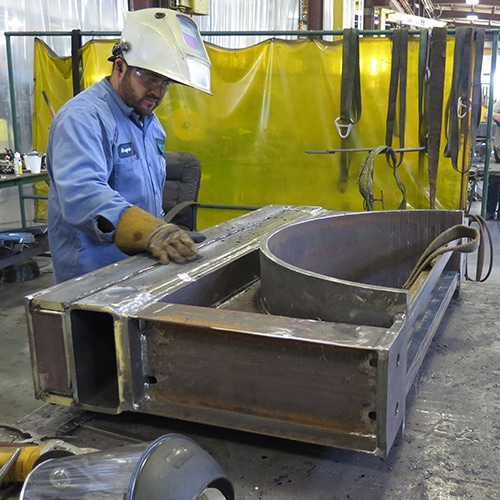 Steel Pipe Welding Fabrication Services