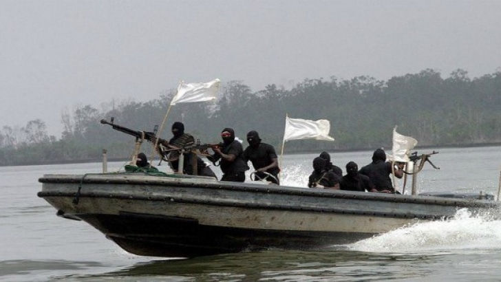 [photo credit: TVC NEWS] NIGERIA- Pirates have attacked an oil supply vessel off the Nigerian coast and kidnapped the captain and chief engineer, both U.S. citizens.