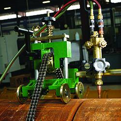 sawyer beveling machine