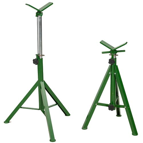 Pipe Jack Stands >> Jack And Jill Pipe Stands Pipe Stands Sawyer Mfg
