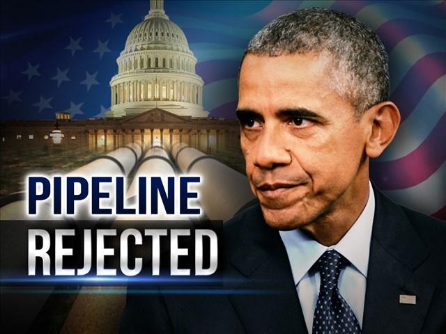 Obama Keystone Pipeline rejected