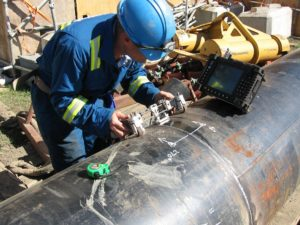 Ultrasonic-pipeline-test