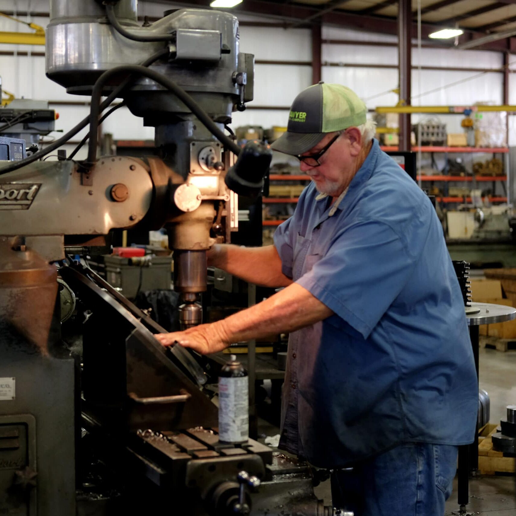 Our equipment is machined, welded, and assembled in our shop.